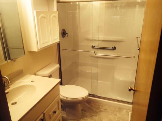 bathroom   NLBConstruction LLC   Contact us at 218-390-4447