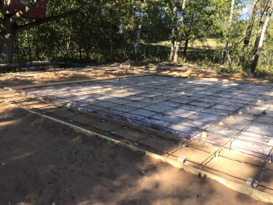 Tom's slab | NL&B Construction | call us at 218-390-4447